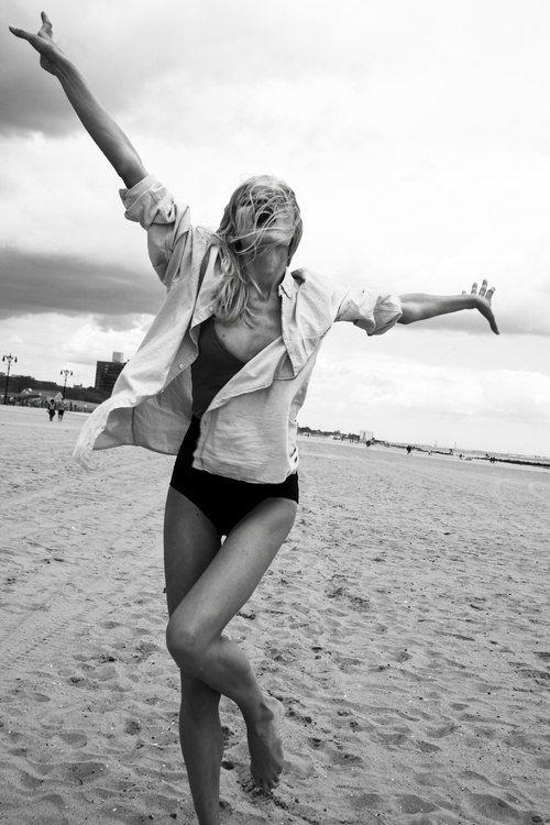 Freedom,skinny,beach