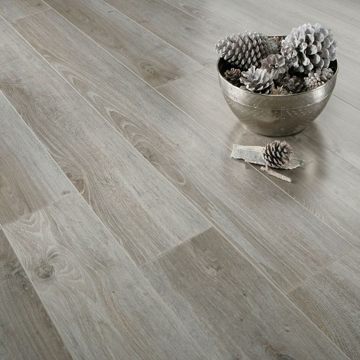 Nice gloss grey oak images of laminate flooring series for Inspire flooring