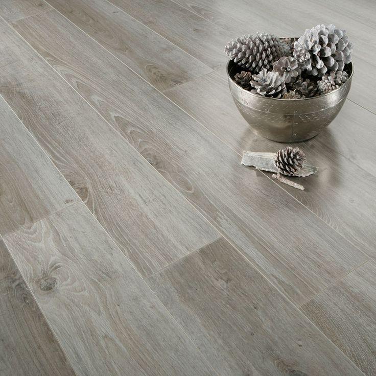 Nice. Gloss Grey Oak. images of laminate flooring | Series Inspire 8mm Gloss Grey Oak Laminate Flooring - Laminate range