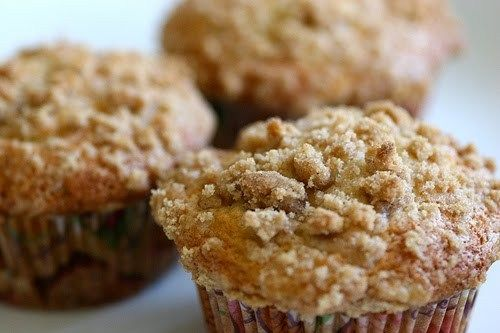 Banana Crumb Muffins http://www.recipes-fitness.com/banana-crumb-muffins/
