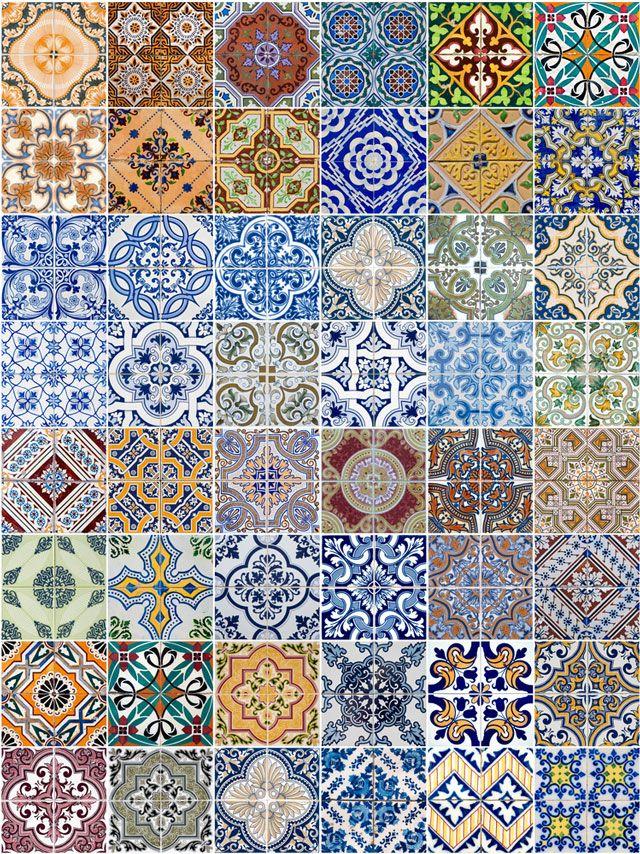 Las 25 mejores ideas sobre azulejos mexicanos en for Azulejos sobre azulejos