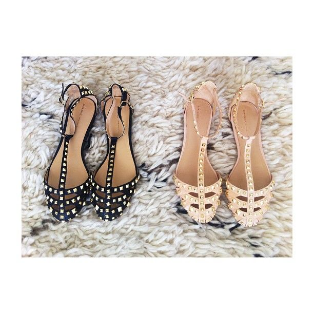 Cute flats. would be smart for late in pregnancy when heels aren't an option