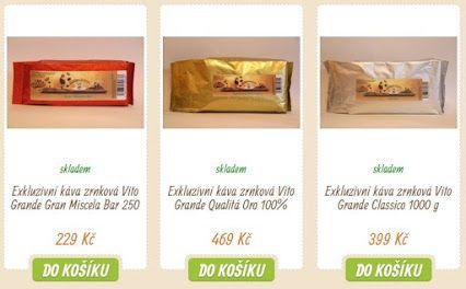 TOP 5 NEJPRODÁVANĚJŠÍ: Naše exkluzivní značková káva  >>> https://www.vito-grande.cz/zrnkova-kava-vito-grande
