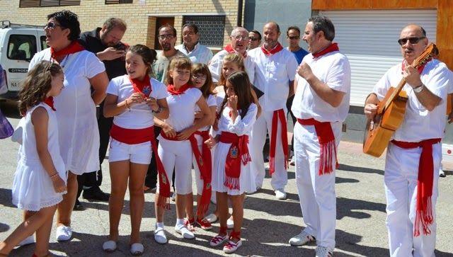Santacara: Ronda Jotera en Santacara Año 2014