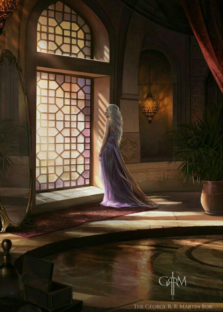 Daenerys by magali villeneuve