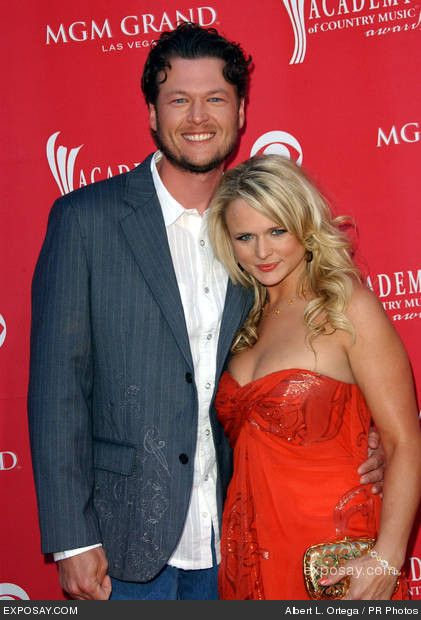 Blake Shelton and Miranda Lambert - 44th Annual Academy Of Country Music Awards - Arrivals