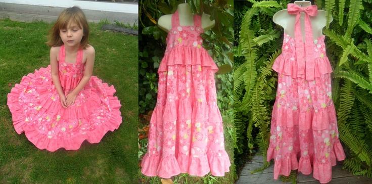 OOAK    Twirly Maxi Dress
