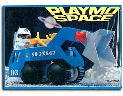 Playmobil 3557_Space Front Loader_Antex Argentina // Not available - Shipping worldwide