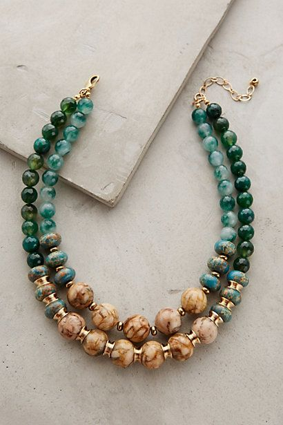 Rona Layered Necklace #anthropologie
