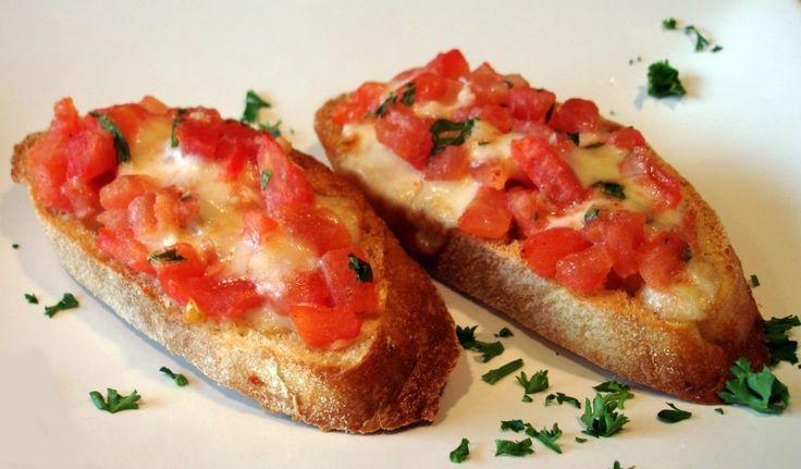 Recept - Bruschetta met tomaat en mozzarella