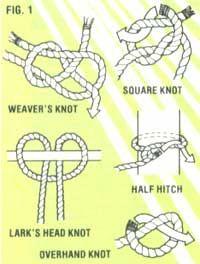 DIY rope hammock