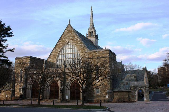 Chapel at Bryn Mawr College in Pennsylvania