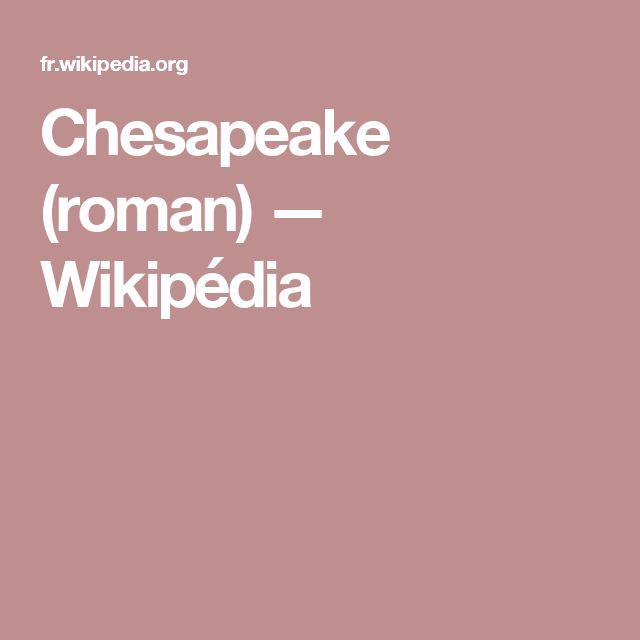 Chesapeake (roman) — Wikipédia