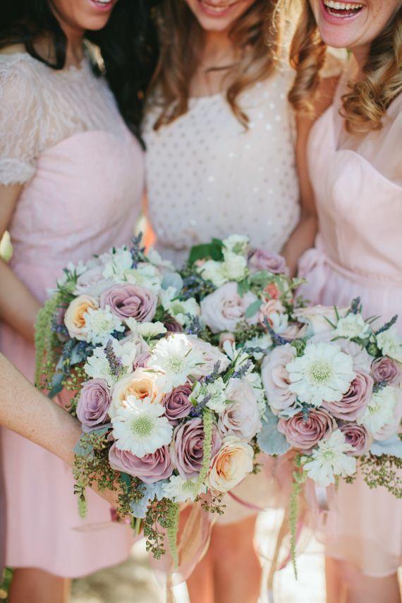 Photo byJen Dillender Photography  #bridesmaids #inspiration #pink
