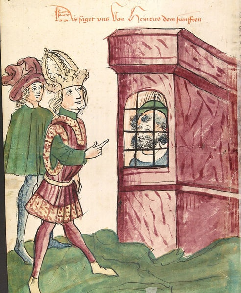 File:Kaiser Heinrich V. besucht seinen Vater im Gefängnis.jpg. Holy Roman Emperor Henry IV entered into an agreement with Pope Calixtus VI called the Concordant of Worms, temporarily settling the Investiture Controversy