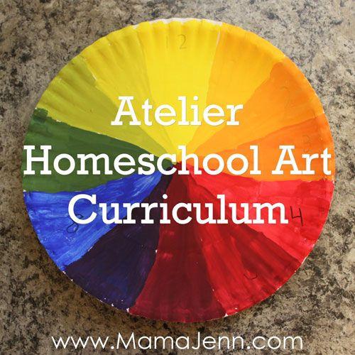 Atelier Homeschool Art Curriculum www.HomeschoolArt.com