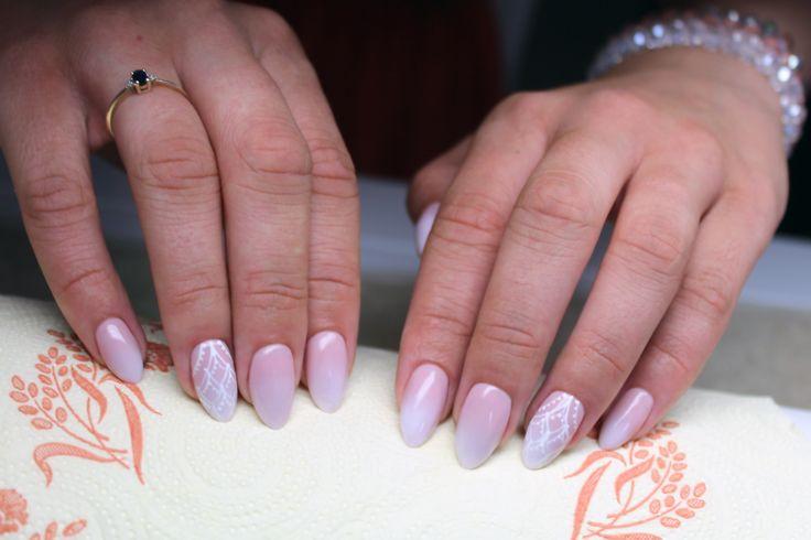 Baby boomer <3 #wedding #weddings #weddingnails #babyboomer #ombre #ombrenails #nudenails #nail #nails
