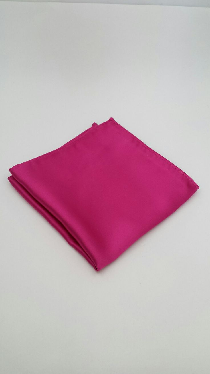 Hot Pink Pocket Square