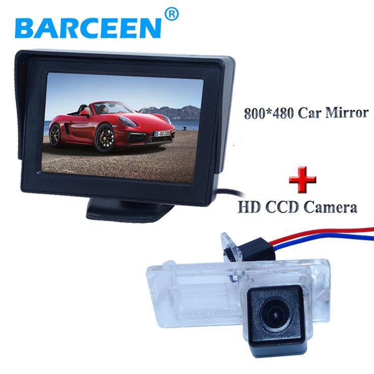 Assist parking car  screen monitor +car reversing camera apply for Renault Fluence/Dacia Duster/Megane 3 for Nissan Terrano