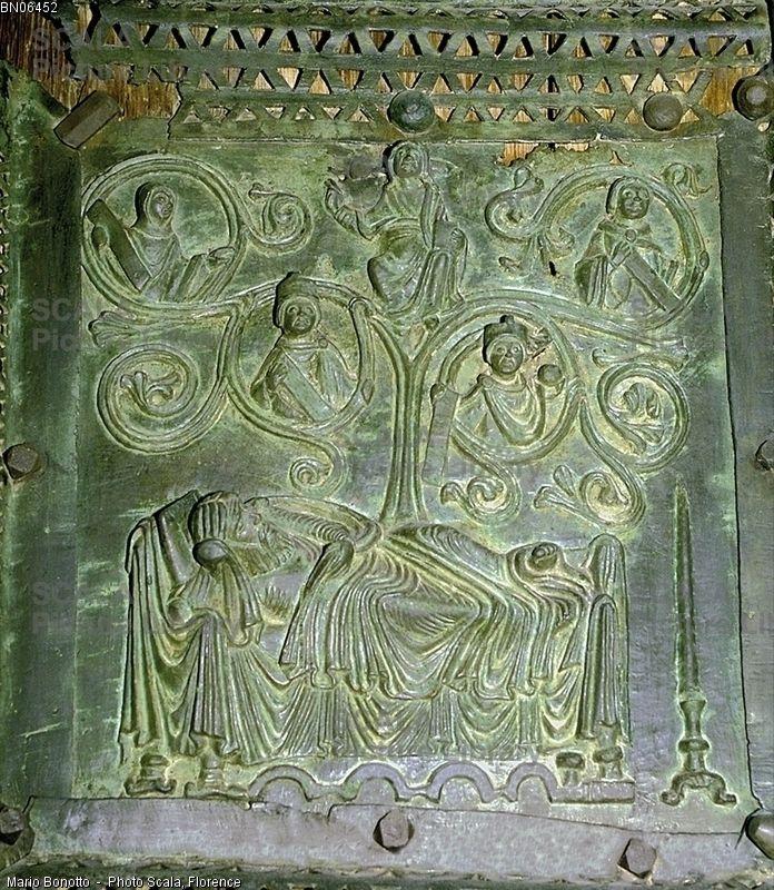 Verona - Basilica di S.Zeno Maggiore - Albero di Jesse -
