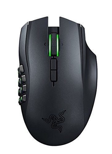 BUY NOW Razer Naga Epic Chroma Multi-Color Wireless MMO Gaming Mouse Get Imba Featuring a massive amount of buttons to use, the