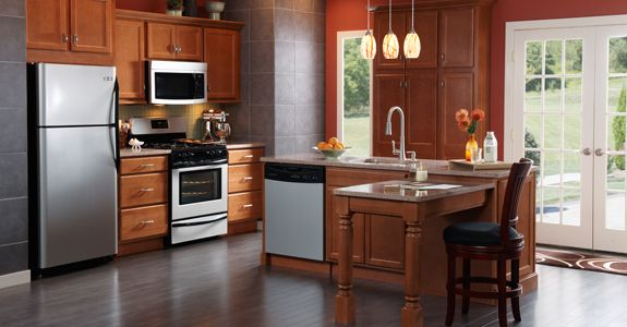 diamond prelude kitchen cabinets prelude lansing maple in toffee kitchen 14714
