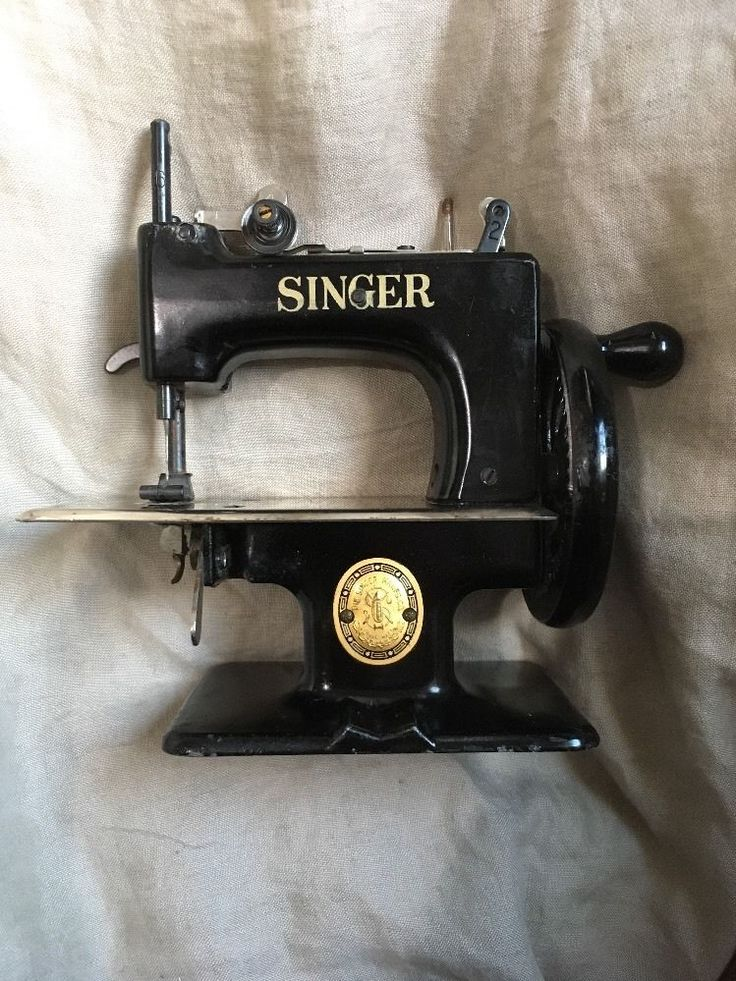Antique Singer Commeriative 1851 1951 Singer Sewing Machine Toy Vintage Childs #Singer