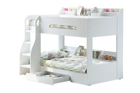 Flick Bunk Bed - White