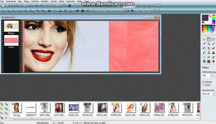 Egyszerű háttér készítése Photofiltre-vel