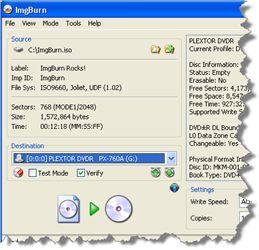 DVD to ISO - Imgburn