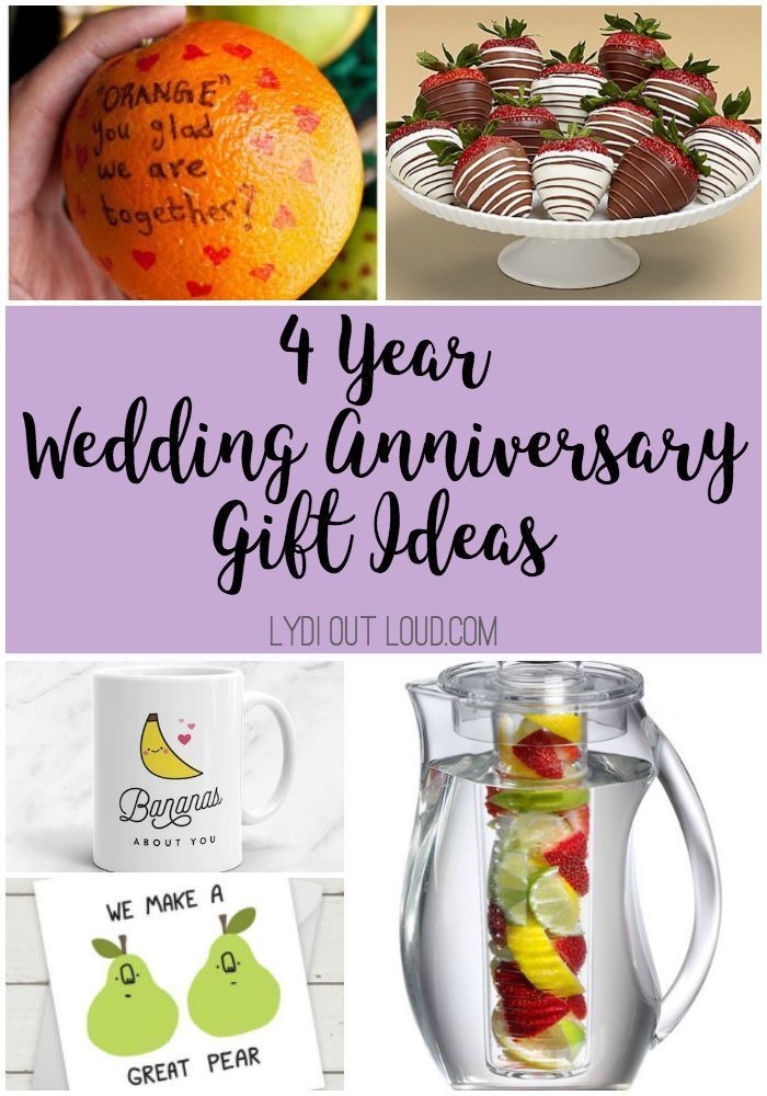 4 Year Anniversary Gift Ideas 4th Year Anniversary Gifts