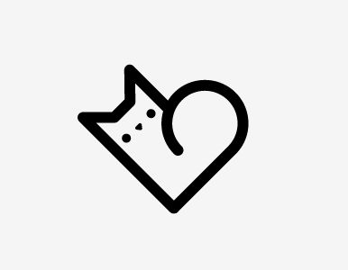 CAT HEART TATTOO. For cat lovers!!