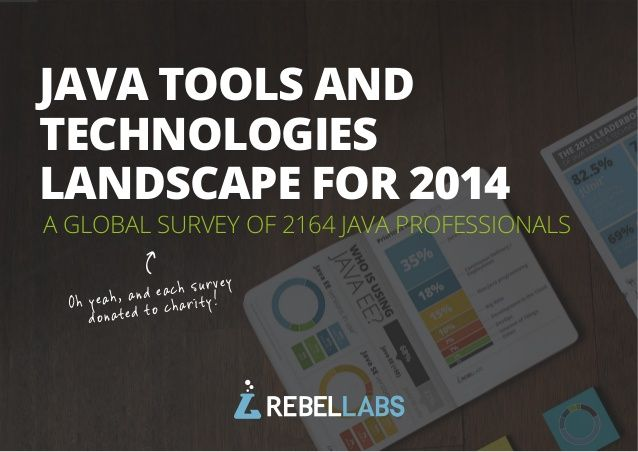 Java Tools and Technologies Landscape for 2014 (image gallery) by ZeroTurnaround via slideshare