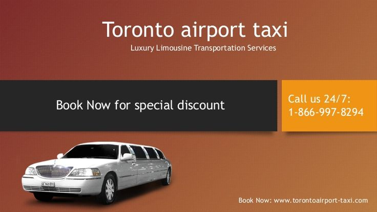 Toronto airport taxi is a limousine service provides limo & taxi transportation to and form all airports in toronto canada.How to book a toronto airport limousine. http://www.torontoairport-taxi.com/. Call us 24/7 : 1-866-997-8294 any time any where in toronto canada.