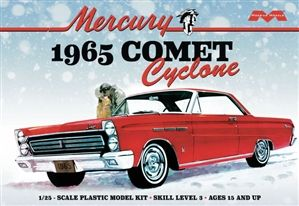 "1965 Mercury Comet Cyclone (1/25) (fs) <br><span style=""color: rgb(255, 0, 0);"">Late December</span>"