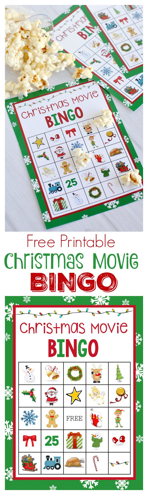 Christmas Movie Night party ideas, games, treats and more. Perfect holiday party ideas.