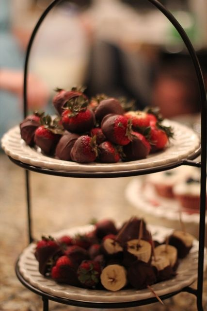 Dipped Chocolate Vodka Soaked Strawberries will be perfect for Valentine's Day.