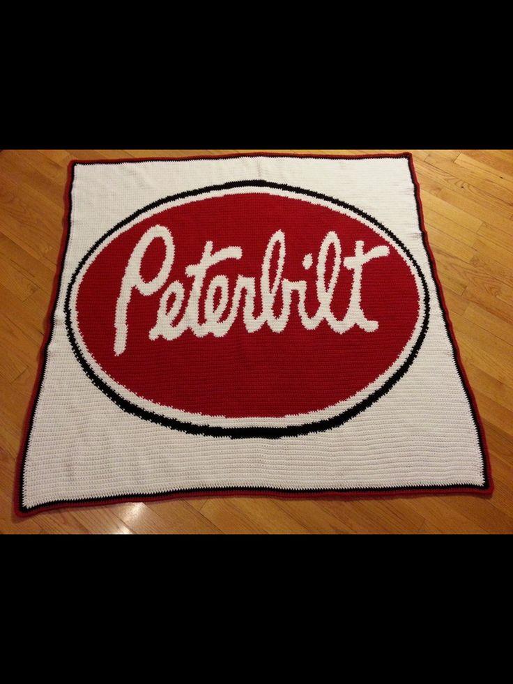 Peterbilt Afghan Crochet Patterns Crochet Cross Stitch