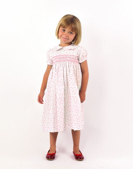 smocked day dress