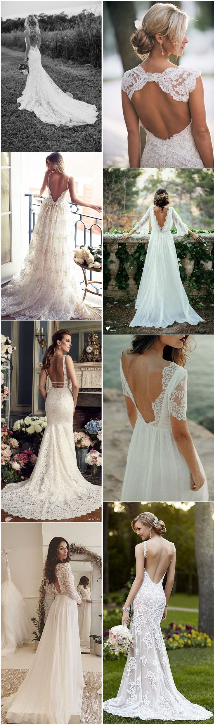 Wedding Dresses»34 Stunning Open Back Wedding Dresses That Wow