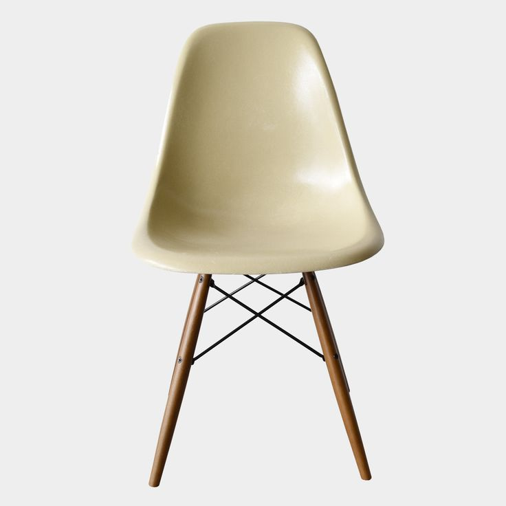 Eames DSW Grey Yellow