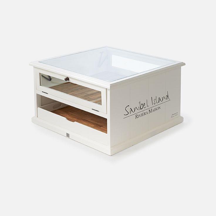 Sanibel coffee table 70x70 - Rivièra Maison