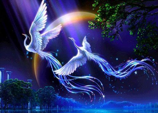 Compra pintura del pájaro de phoenix online al por mayor de ...