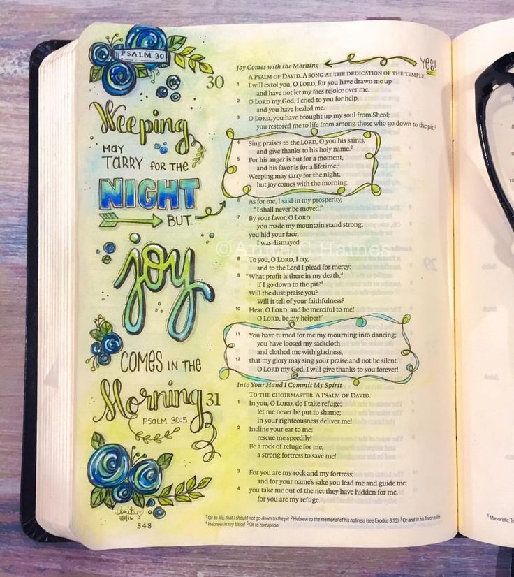 My friend, Anita, designed the templates we used in the workbook and below is an example of her beautiful Bible art journaling. You'll find a copy of this design as a blank template within the workbook and slide it right under your journaling page to copy over it.