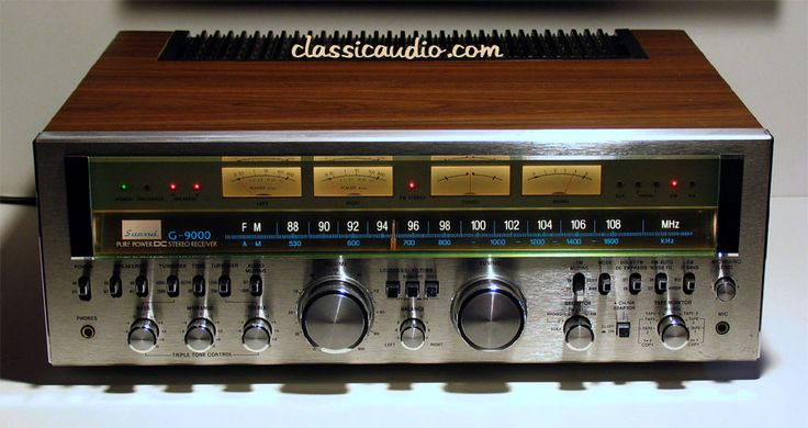 classicaudio.com..... For Sale..... Sansui G-9000.  I have this monster.  It is truly impressive.  The clarity and detail is extremely good.