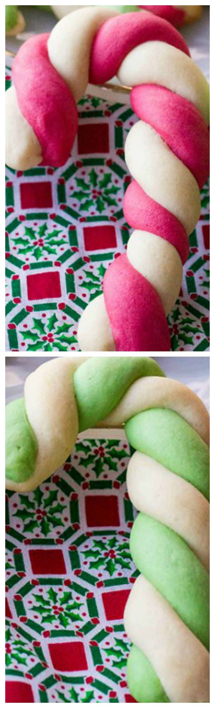 Retro Betty Crocker Candy Cane Cookies ~ There's something perfect about these twisty, delicious cookies that is perfect.