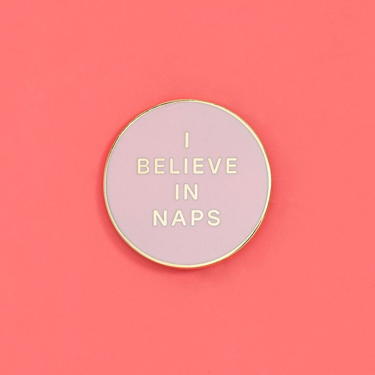 ban.do + valley cruise i believe in naps pin $10