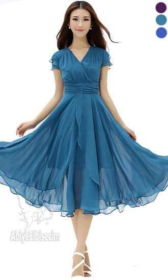 75b98c0a88ac4 Bayan şifon abiye elbise,bayan elbise,online elbise,ucuz elbise,elbise satın