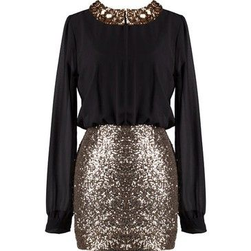 I loved this at www.fashiolista.com..this is perfect for our Christmas party.. :)