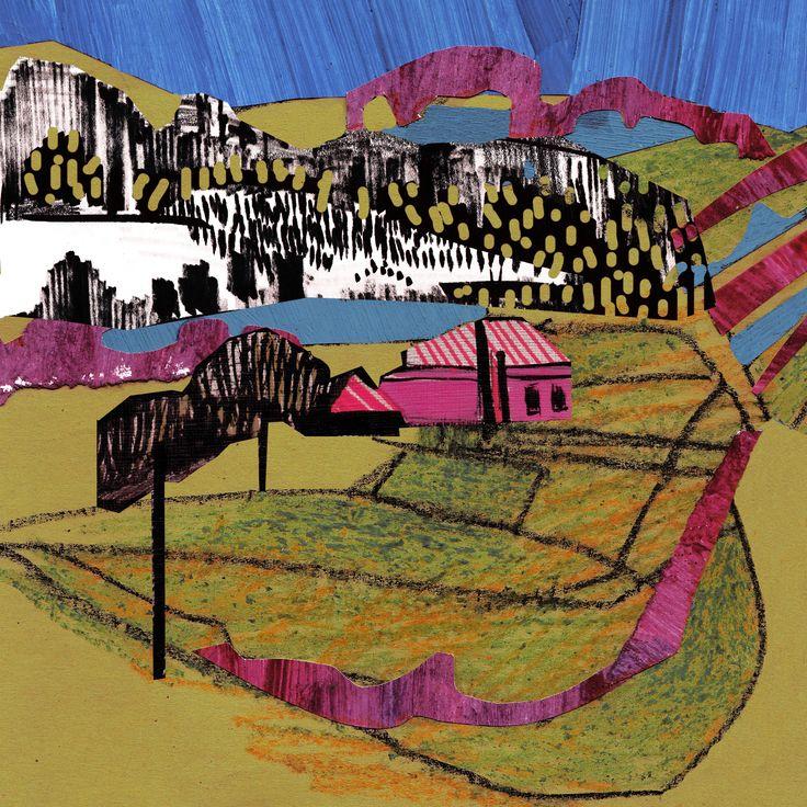 """Collage Landscape #8"" Author: Alina Shagidullina (a creator and owner of HOUZY) @_houzy"